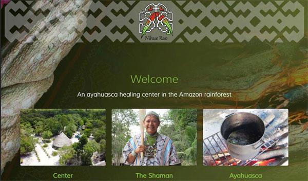Nihue webpage image